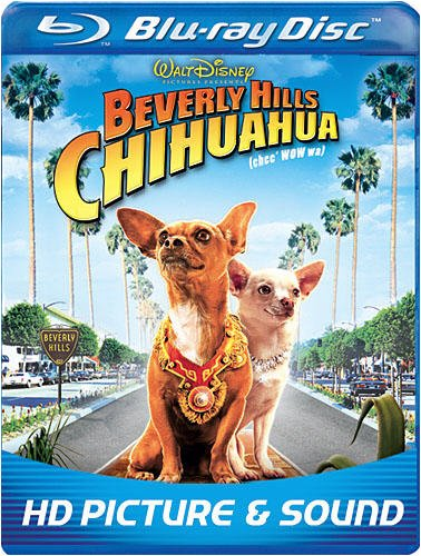 Cover art for  Beverly Hills Chihuahua (BD Live) [Blu-ray]