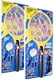 2PK BugKwikZap Bug Zapper Electric Fly Swatter /Model-BlackTail /Rechargeable! /No Batteries Needed! /Light