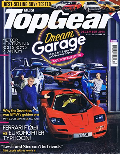 BBC Top Gear [UK] December 2016 (単号)