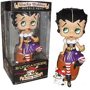 Betty Boop Buccaneer Wacky Wobbler