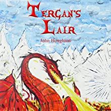 Tergan's Lair: Oswain Tales, Book 4 Audiobook by John Houghton Narrated by Jus Sargeant