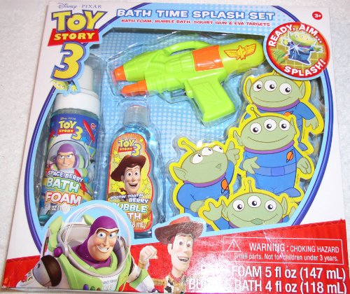 Toy Story 3 Bath Time Splash Set