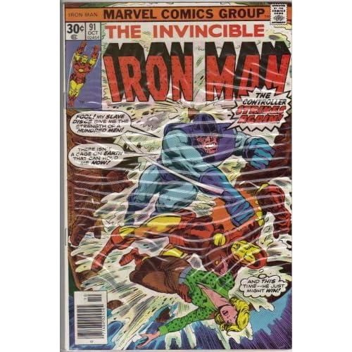 Iron Man #91 Comic Book