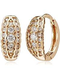 Sia Art Jewellery Clip On Earrings For Women (Golden) (AZ3490)