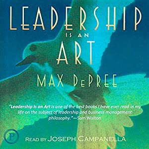 Leadership Is an Art Audiobook