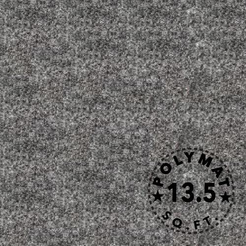 3Ft X 4Ft W Charcoal Speaker Box Carpet : Sub Box Polymat Carpet Truck Car Trunk Liner, Dash Cover, Interior Headliner Automotive Carpet
