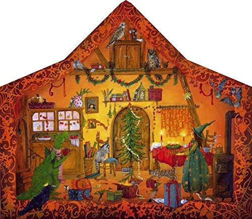 Merlind, die kleine Zauberin: Adventskalender