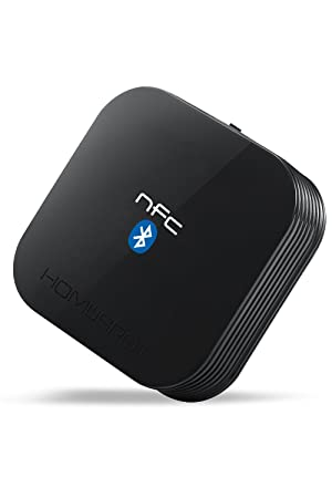 Homespot Nfc-Enabled Bluetooth Audio Receiver For Sound System at amazon