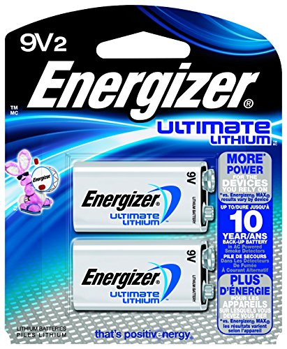 Energizer Ultimate Lithium Battery, 2 Count (Fire Alarm Battery compare prices)
