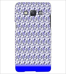 PrintDhaba Typography D-1820 Back Case Cover for SAMSUNG GALAXY E5 (Multi-Coloured)