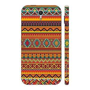Enthopia Designer Hardshell Case Aztec Orange Back Cover for Lenovo Zuk Z1