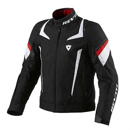 FJT155 1200-XYL - Rev It Jupiter Motorcycle Jacket 3XL Black-Red