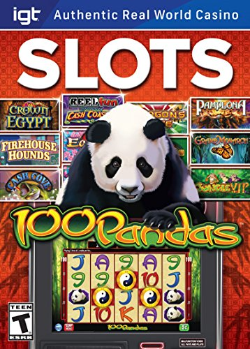 IGT Slots 100 Pandas PC [Download] (Casino Slot Machine Games For Pc compare prices)