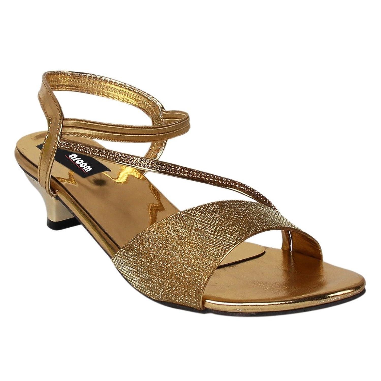 Womens sandals flipkart - Aroom Women S Golden Heel Sandal Rs 599 00 Flipkart Coupons