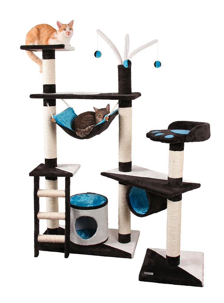 cat tree with hammock uk. Black Bedroom Furniture Sets. Home Design Ideas