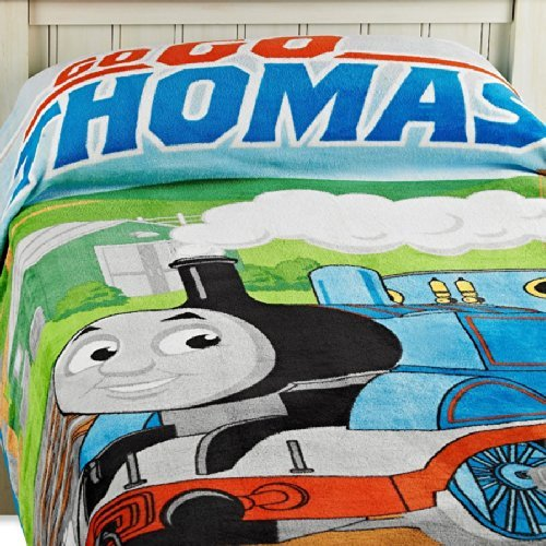 "Thomas the Tank ""Fun"" Fleece Blanket - 1"
