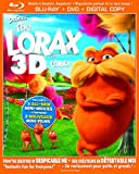 Dr. Seuss' The Lorax [Blu-ray 3D + Blu-ray + DVD + Digital Copy] (Bilingual)