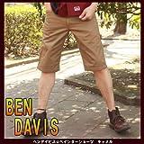 36:当日出荷します★18:00までのご注文★BENDAVIS BEN DAVIS ベンデイビス #526 PAINTER SHORTS ペインターショーツ クロップドパンツ ワークパンツ キャメル S M L