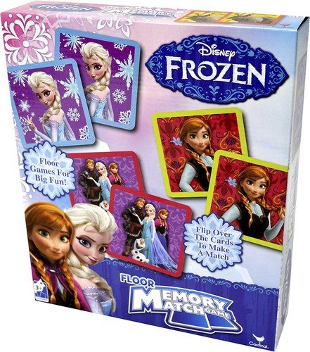 Disney Frozen Floor Memory Match, 54 pieces Styles Will Vary (Headache Board Game compare prices)