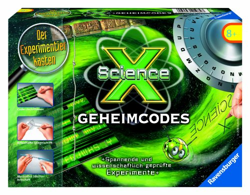 Ravensburger 18793 - ScienceX - Geheimcodes - Experimente