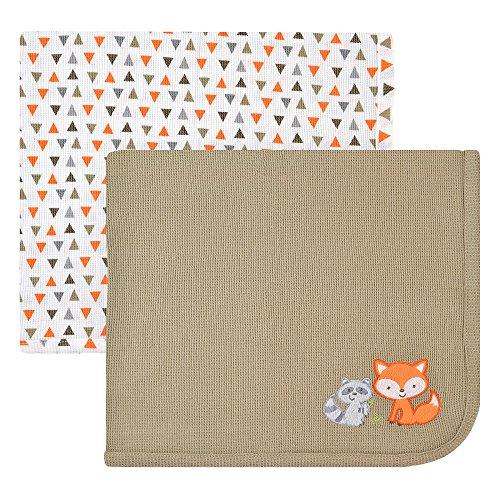 Koala Baby 2 Pack Thermal Blanket - Grey Fox - 1
