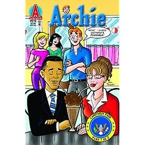 Archie Comics #616 President Barack Obama & Sarah Palin 1st Printing