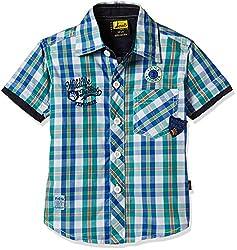 Seals Baby Boys' Shirt (AM8097_1_GREEN_1)