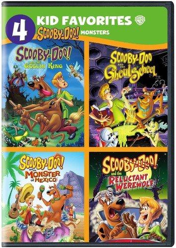 DVD : 4 Kid Favorites: Scooby-Doo! Monsters (DVD)