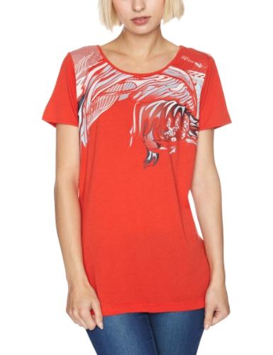 Puma Women's Puma Alexander Mcqueen Shortsleeve Fight Fish T-Shirt