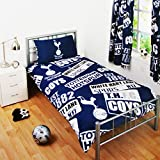 Tottenham Unisex Patch Single Duvet Set, Multi-Colour