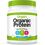Orgain Organic Plant Based Protein Powder, Vanilla Bean, 1.02 Pound, 1 Count, Vegan, Non-GMO, Gluten Free, Packaging May Vary (Tamaño: 1.02 LB)