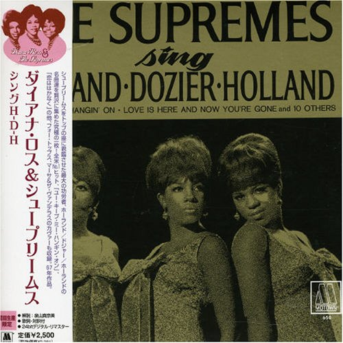 The Supremes Sing Holland–Dozier–Holland artwork