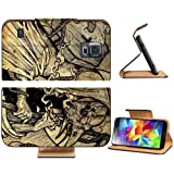 Death Fantasy Art Digital Artwork Coffin Samsung Galaxy S5 SM-G900 Flip Cover Case with Card Holder Customized Made to Order Support Ready Premium Deluxe Pu Leather 5 13/16 inch (148mm) x 2 1/8 inch (80mm) x 5/8 inch (16mm) MSD S V S 5 Professional Cases Accessories Open Camera Headphone Port LCD Graphic Background Covers Designed Model Folio Sleeve HD Template Designed Wallpaper Photo Jacket Protector Micro SD Wireless Cellphone Cell Phone