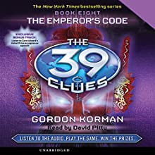 The 39 Clues, Book 8: The Emperor's Code Audiobook by Gordon Korman Narrated by David Pittu