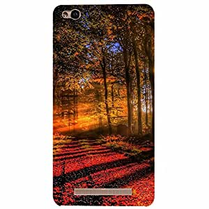 Xiaomi Redmi 3s Red Forests Printed back cover