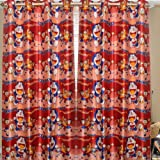 Homefab India Cartoon Printed Kids Window Curtain (6X4ft)(1 Pc Curtain)