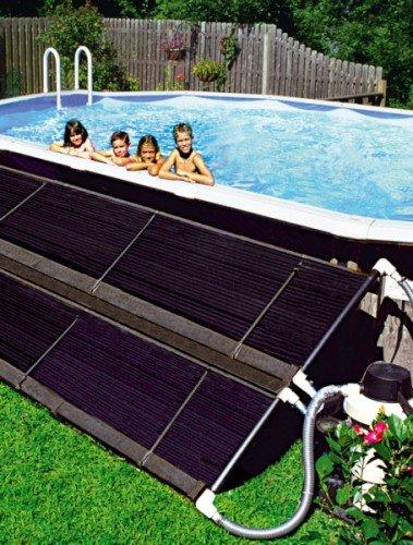 Freizeitwelt-Online Montagesatz Solarkollektor Sunheater Eco Solar 6,00 x 0,61m