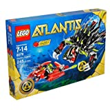 Lego Atlantis Series Limited Edition Set #8079 - SHADOW SNAPPER With Combat Sub And Diver Minifigure (Total Pieces...