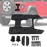 OHMU for Jeep Wrangler JL Oversized Spare Tire Carrier Tailgate Reinforcement Kits (Color: JL Oversized Spare Tire Carrier)