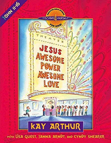 Jesus--Awesome Power, Awesome Love: John 11-16 (Discover 4 Yourself Inductive Bible Studies for Kids (Paperback)) (Inductive Bible Study John compare prices)