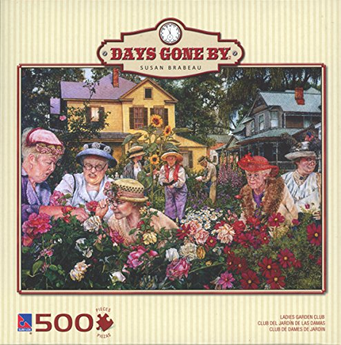 Sure-Lox 500 Piece Puzzle - Days Gone By - Ladies Garden Club by Susan Brabeau