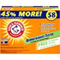 Arm & Hammer  33200-06520 Powder Laundry Detergent  Perfume and Dye Free  3.58 lbs (Pack of 5)