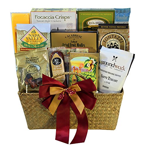 Art of Appreciation Gift Baskets The Finer Things Gourmet Food Gift Chest (Gift Basket Men compare prices)