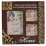 Giftgarden Picture Frames - 3 Opening Daily Home Decor 4x6 Picture Frame
