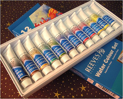 Reeves Water Colour Paint Sets set of 12