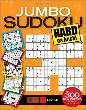Jumbo Sudoku Hard as Heck