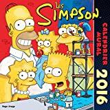 Calendrier mural Les Simpson 2016...