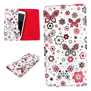DooDa PU Leather Case Cover For Intex Cloud Power+