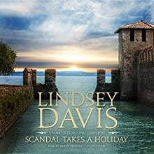 Scandal Takes a Holiday: A Marcus Didius Falco Mystery Audiobook by Lindsey Davis Narrated by Simon Prebble