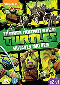 Teenage Mutant Ninja Turtles - Season 2, Vol. 1 Mutagen Mayhem [DVD]